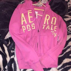 Pink long sleeve Aeropostale jacket